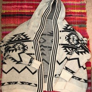 EUC Urban outfitters hooded cardigan